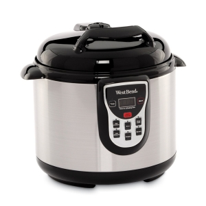 West Bend Stainless Pressure Cooker