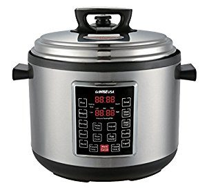 #4. The GoWISE USA 8 in 1 Programmable Electric XL Pressure Cooker (12QT)