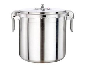 The Buffalo Stainless Steel Commercial Series Pressure Cooker