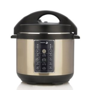 Fagor LUX Multi-Cooker, 4 quart, Champagne (Electric Pressure Cooker, Rice Cooker & Slow Cooker)