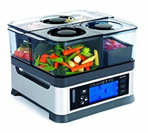 Vante Intellisteam Food Steamer (CUC-30ST) with 3 Compartmentsi best electric pressure cooker
