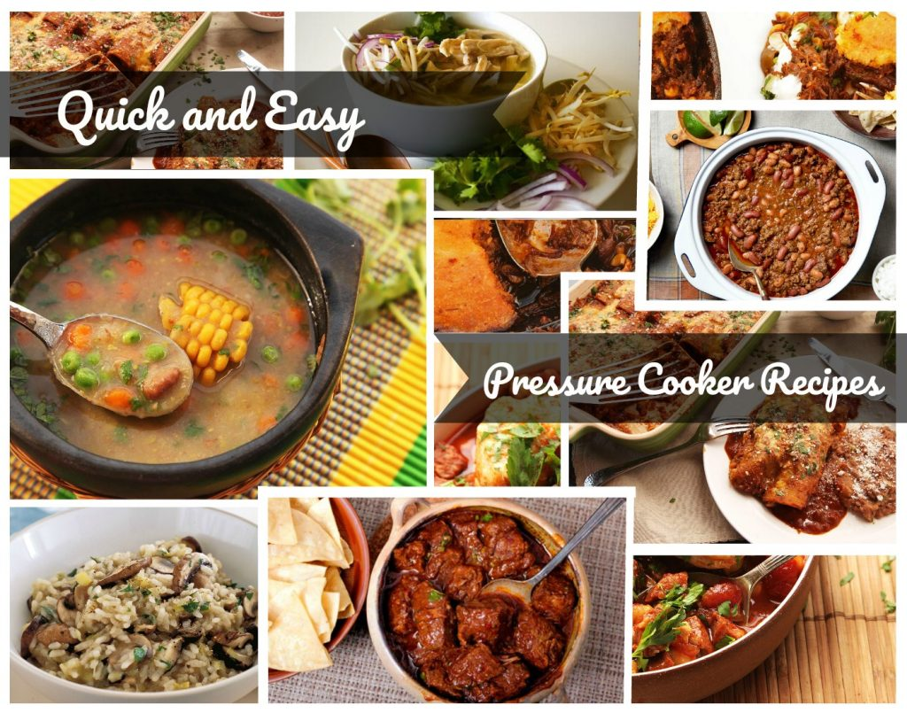 Quick and Easy Pressure Cooker Recipes